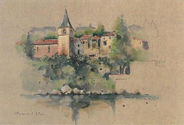 Villeneuve d'Allier