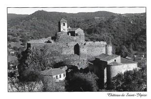N&B - Château de Saint-Ilpize